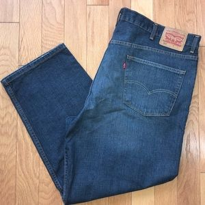 Levi's 550 Relaxed Fit Jeans Big and Tall 46 x 29